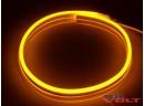 Гибкий неон Flex 220V SMD 2835 (120 LED/m) IP67 Yellow