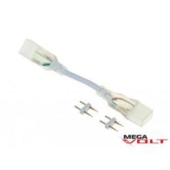 Коннектор для LED NEON (2 разъёма-провод + 2pin (2шт))