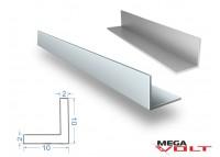 Алюминиевый уголок АД31 Т5 10х10х2мм (анодированный)