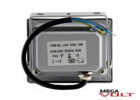 Светодиодный прожектор COB RGB 10W 220V IP65 (Gray)