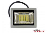 Светодиодный прожектор SMD 20W 220V IP65 (Gray) premium