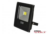 Светодиодный прожектор COB 30W 220V IP65 (Black)