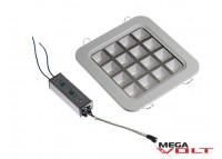 Встраиваемый светодиодный светильник 16W Downlight (square)