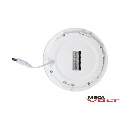Встраиваемый светодиодный светильник 9W slim (round)