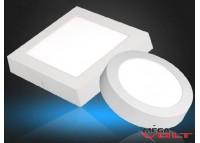 Накладной светодиодный светильник 12W (square)