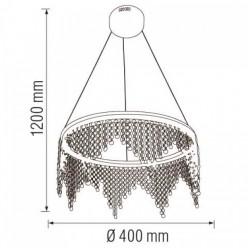 Светодиодная люстра ASTORIA-25 25W