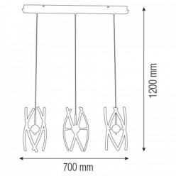 Светодиодная люстра OPTIMA-36 36W
