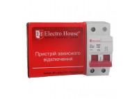 Автоматический выключатель 2P 32A 4,5kA 230-400V IP20