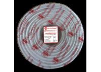 Телевизионный (коаксиальный) кабель RG-6U CCS 1,02 Cu гермет. фольга белый ПВХ