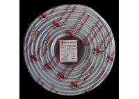 Телевизионный (коаксиальный) кабель RG-6U CCS 1,02 Al  белый ПВХ