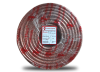 Телевизионный (коаксиальный) кабель RG-6U CCS 1,02 Cu прозрачный Силикон