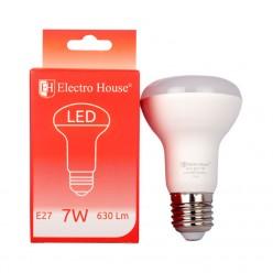 LED лампа E27 4100K / 7W 630Lm /220° R63