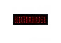 Электронный Led бейдж, красный