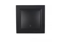 Выключатель проходной Безупречный графит Enzo IP22